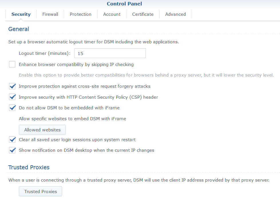 How To Secure Synology NAS General Security